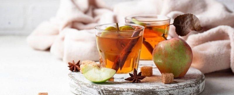 Autumn Apple Tea