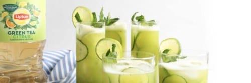 Green Tea Whole Fruit Agua Fresca