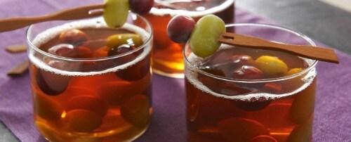 Thé Glacé Aux Trois Raisins