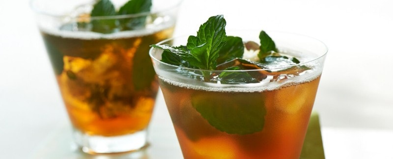 Mega Mint Iced Tea