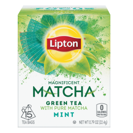 PNG - Lipton US - Lipton Green Tea Matcha Mint