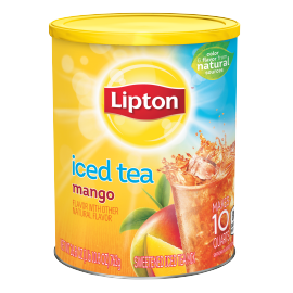 PNG - Lipton US - Lipton Iced Tea Mix Mango Sweetened