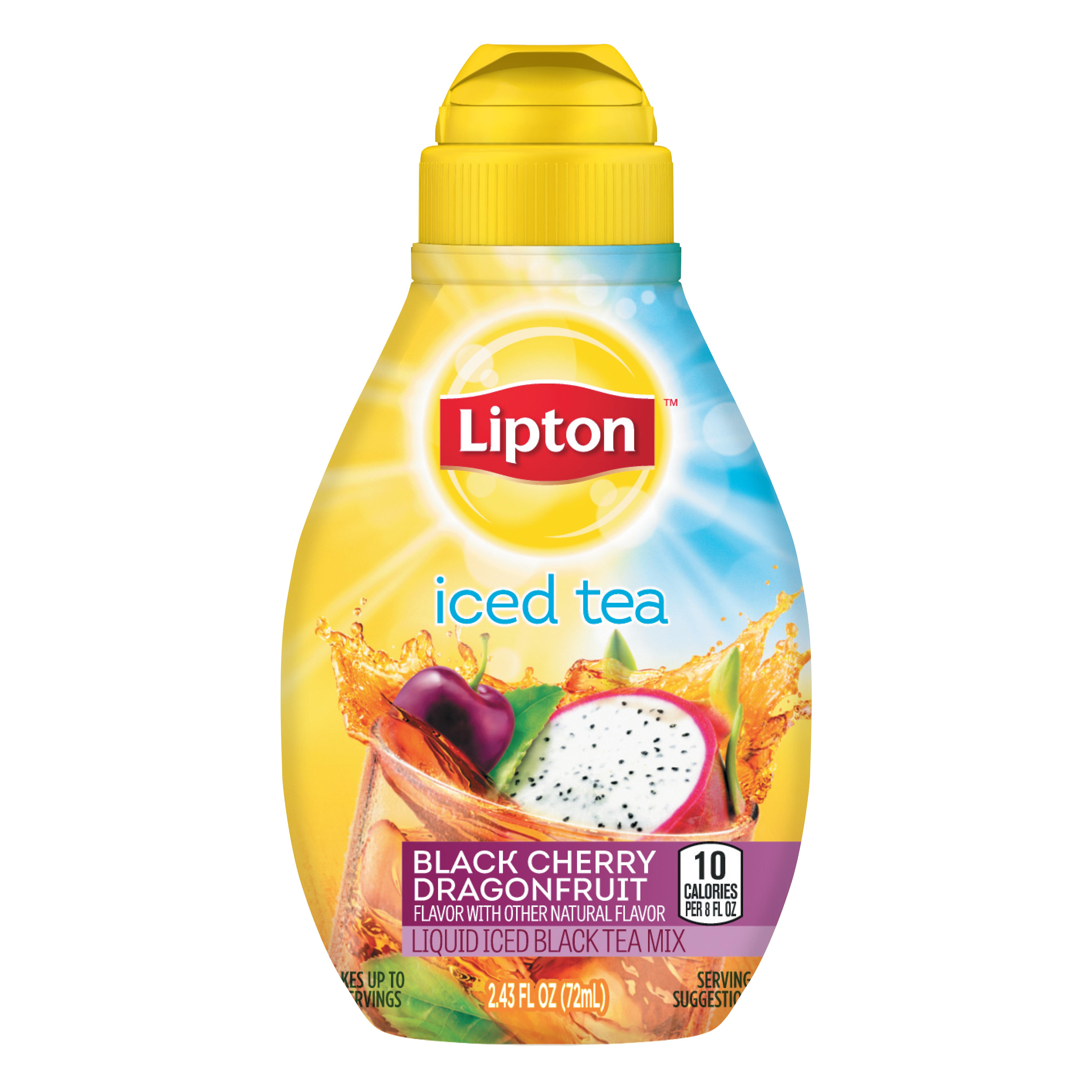Black Cherry Dragonfruit Liquid Iced Tea Mix