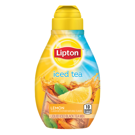 PNG - Lipton US - Lipton Liquid Iced Tea Mix Lemon