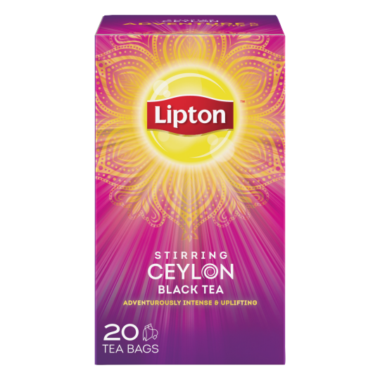 PNG - Lipton US - Lipton Black Tea Bags Stirring Ceylon 20 ct