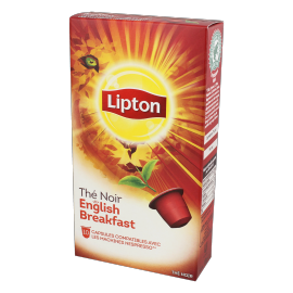 Lipton Thé English Breakfast - 10 Capsules