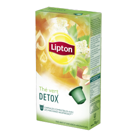 Thé Vert Detox - 10 Capsules