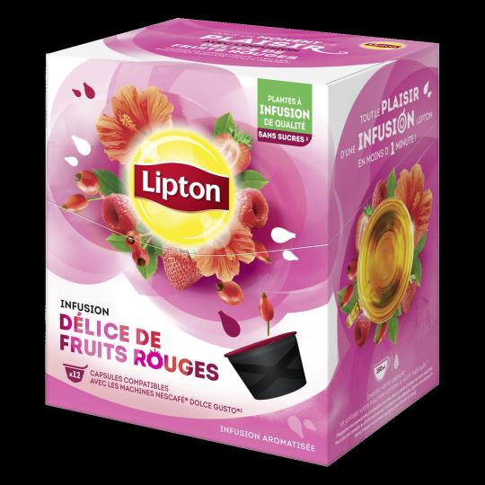 Infusion Délice de Fruits Rouges - 12 Capsules