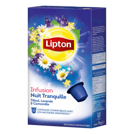 Lipton Infusion Nuit Tranquille 10 Capsules