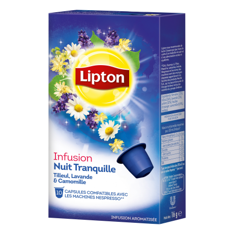 Lipton infusion nuit tranquille - To by lipton capsule ...