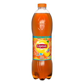Lipton Ice Tea Peach flavor 2L Family Format bottle