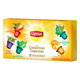 Lipton Coffret collection Capsules