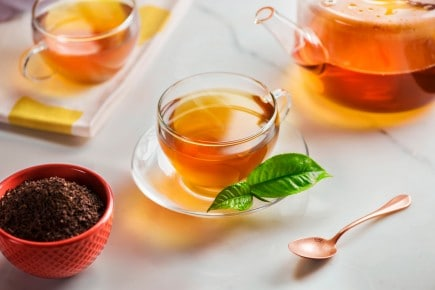 BLACK TEA: SUNSHINE IN A CUP