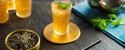 ROOIBOS TEA & MOROCCAN MINT TEA