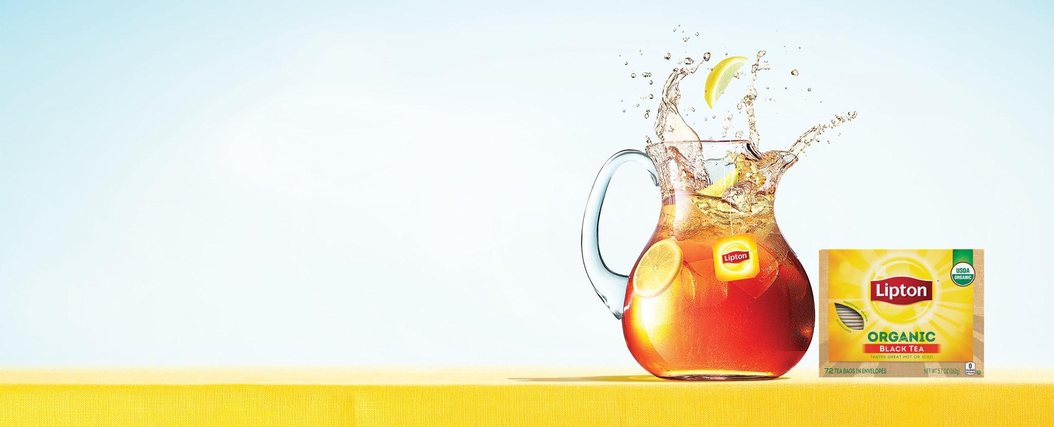 how to make lipton hot tea