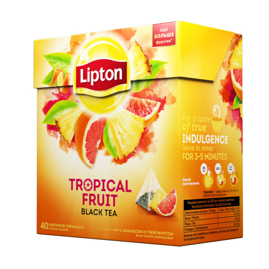 Tropical fruit black tea