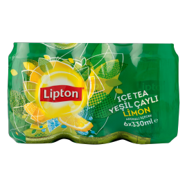 Ice Tea Yeşil Çaylı Limon 6 X 0.33L