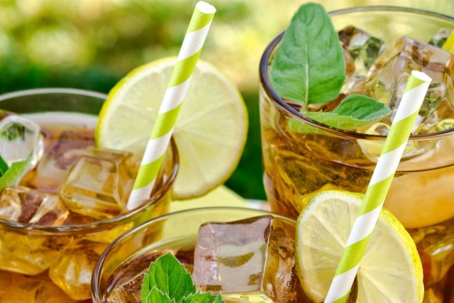 Learn To Brew Green Iced Tea