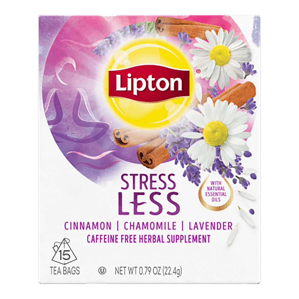 Free sample of lipton wellbeing tea.