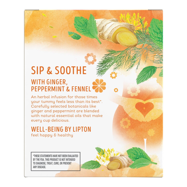 Detox Herbal Supplement + Green Tea | Lipton