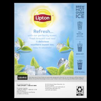 PNG - Lipton Iced Tea Refresh Sweet K-Cups Tea 24 ct