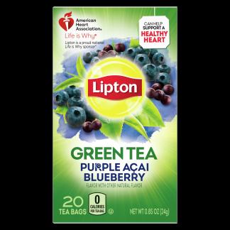 Purple Acai Blueberry Green Tea | Lipton