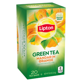 PNG - Lipton Green Tea Bags Mandarin Orange 20 ct