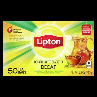 Decaf Black Tea   Lipton
