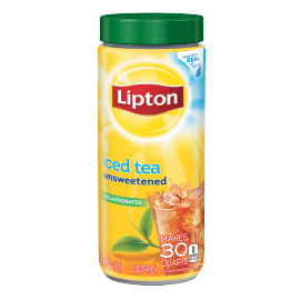 PNG - Lipton US - Lipton Iced Tea Mix Decaffeinated Unsweetened