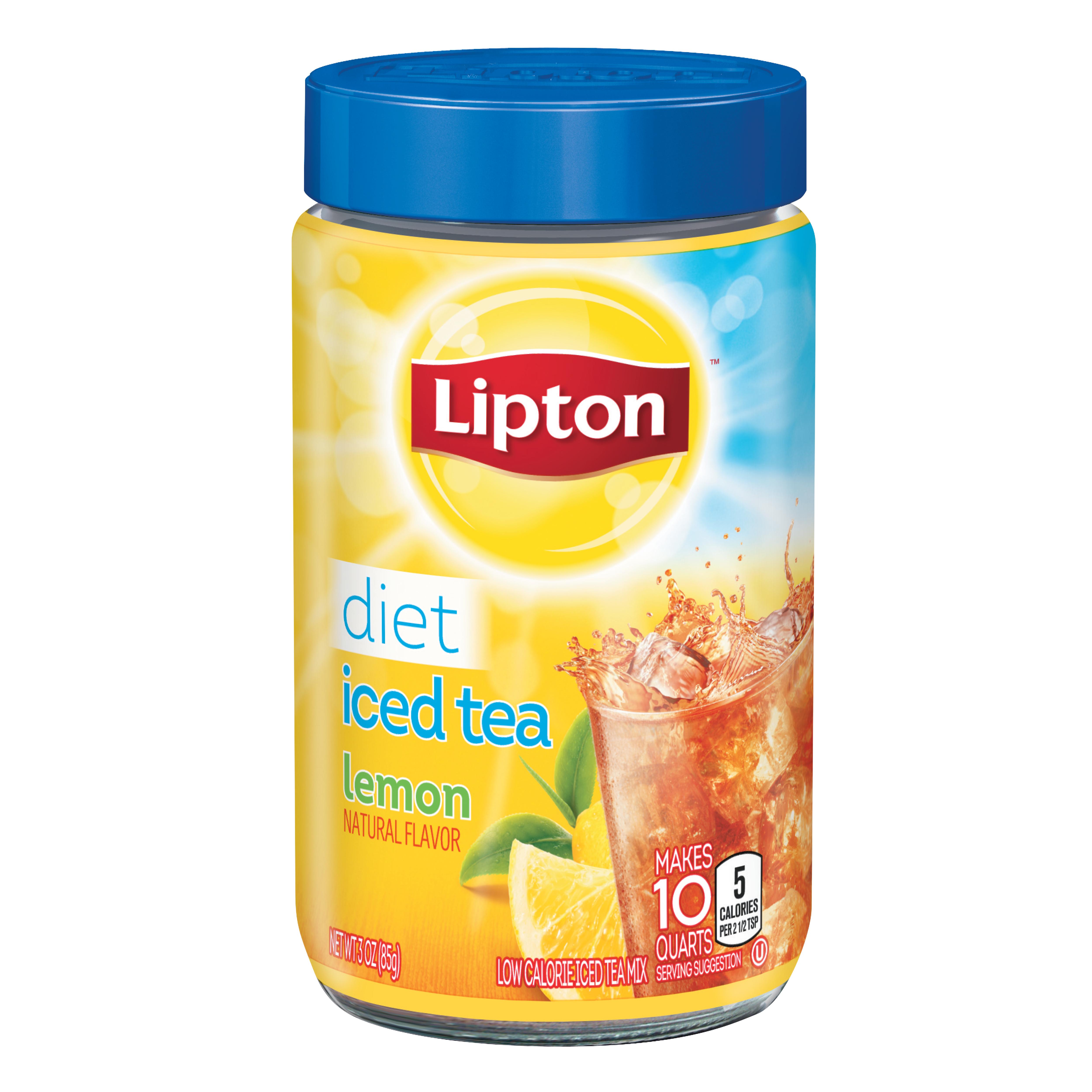Diet Lemon Iced Tea Mix