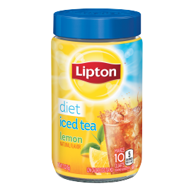 PNG - Lipton US - Lipton Iced Tea Mix Diet Lemon 10 qt