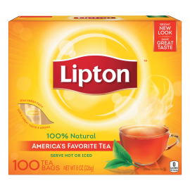 PNG - Lipton US - Lipton Black Tea Bags 100 ct