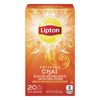 PNG - Lipton US- Lipton Tea/Beverages Spiced Chai Tea