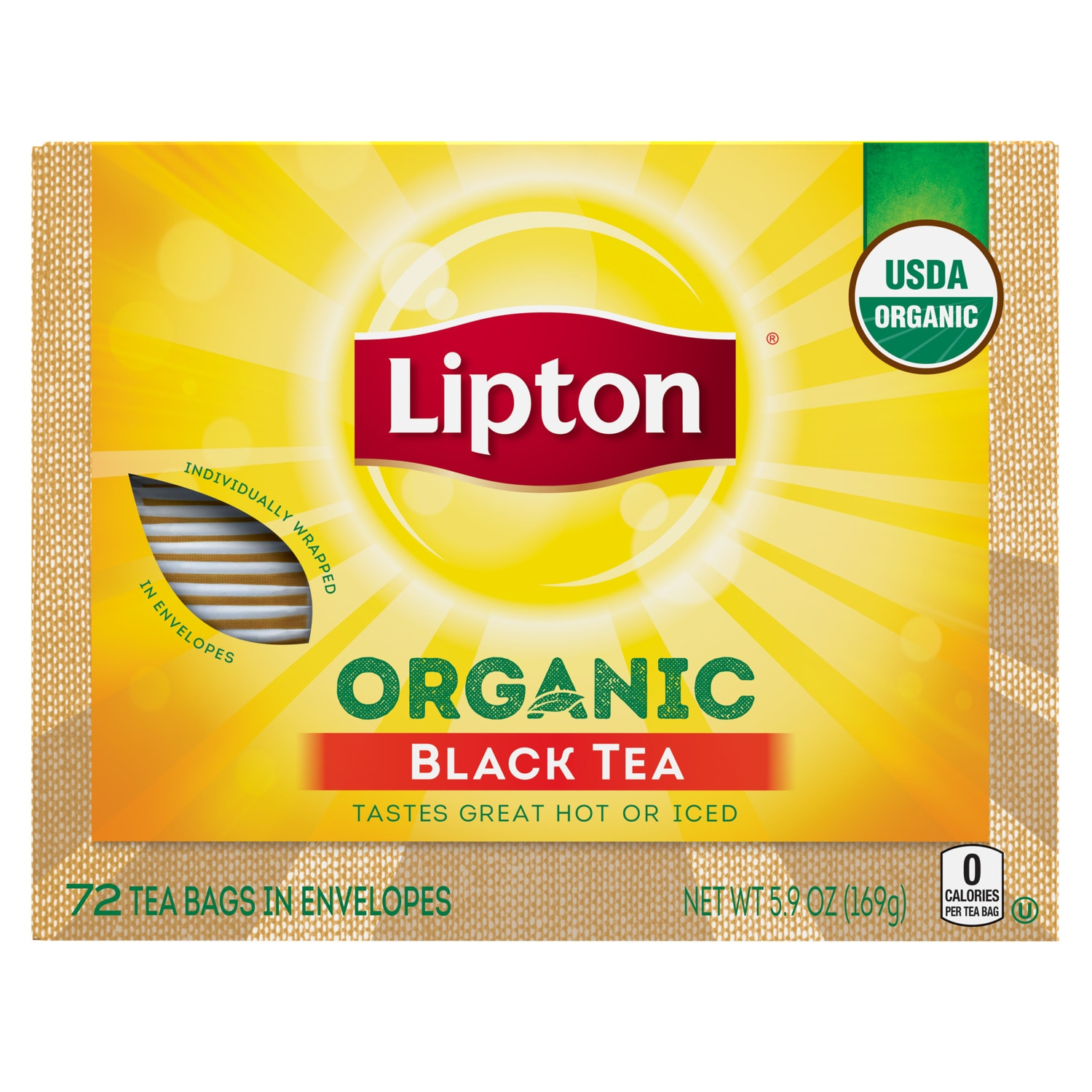 Organic Black Tea Lipton