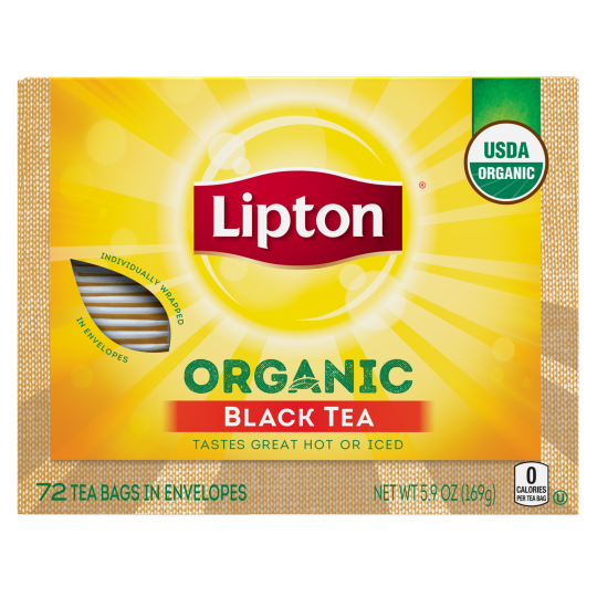 PNG - Lipton Organic Front of Pack