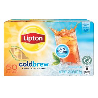 PNG - Lipton US -  Lipton Black Iced Tea Bags Cold Brew