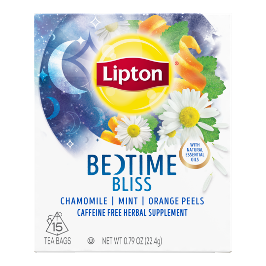 PNG - Lipton Tea Limited Edition Bedtime Bliss 15 1N