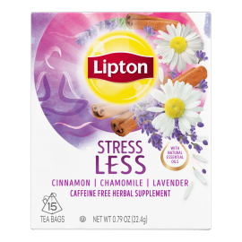 PNG - Lipton Tea Stress Less 15 1N