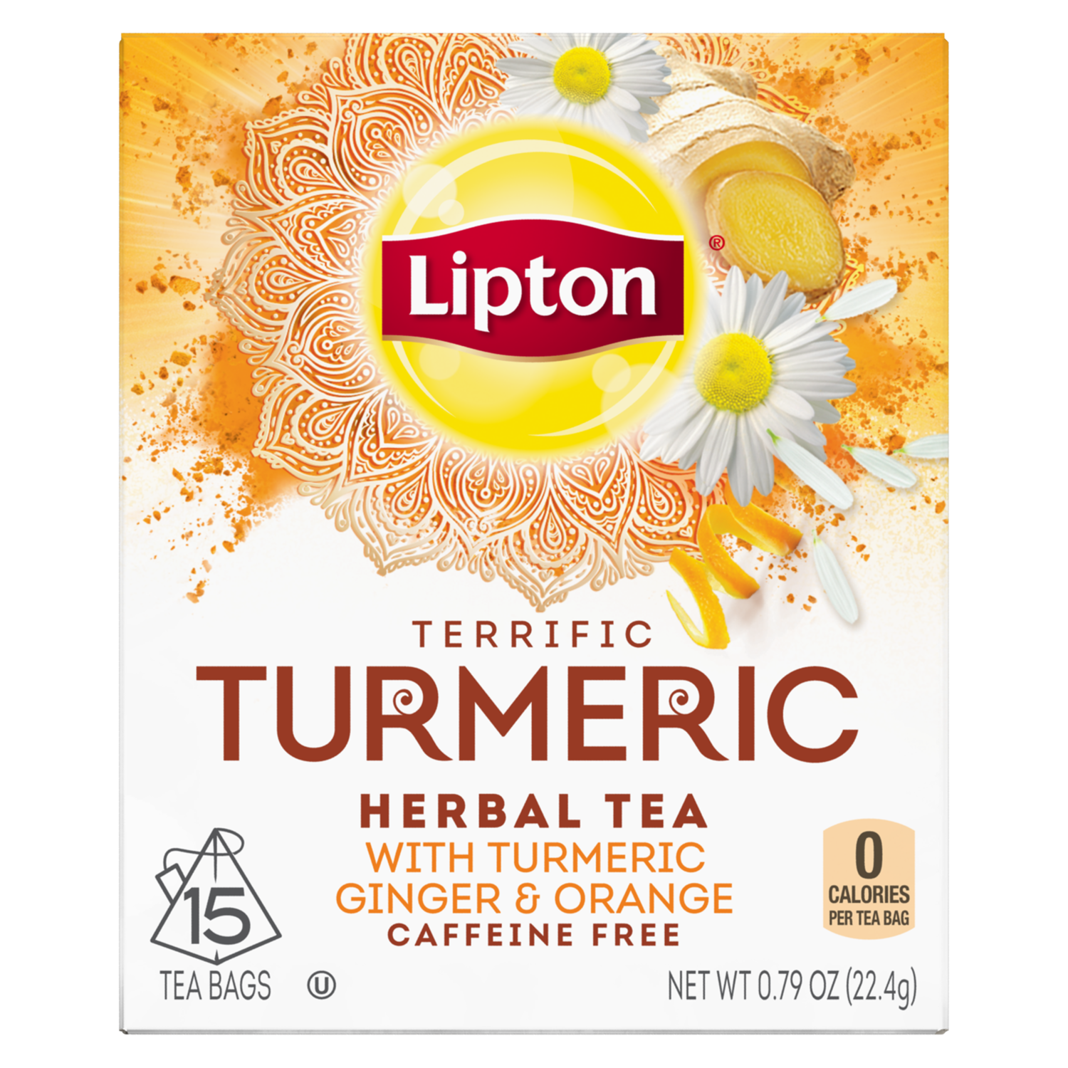 Daily Support Herbal Supplement with Green Tea | Lipton