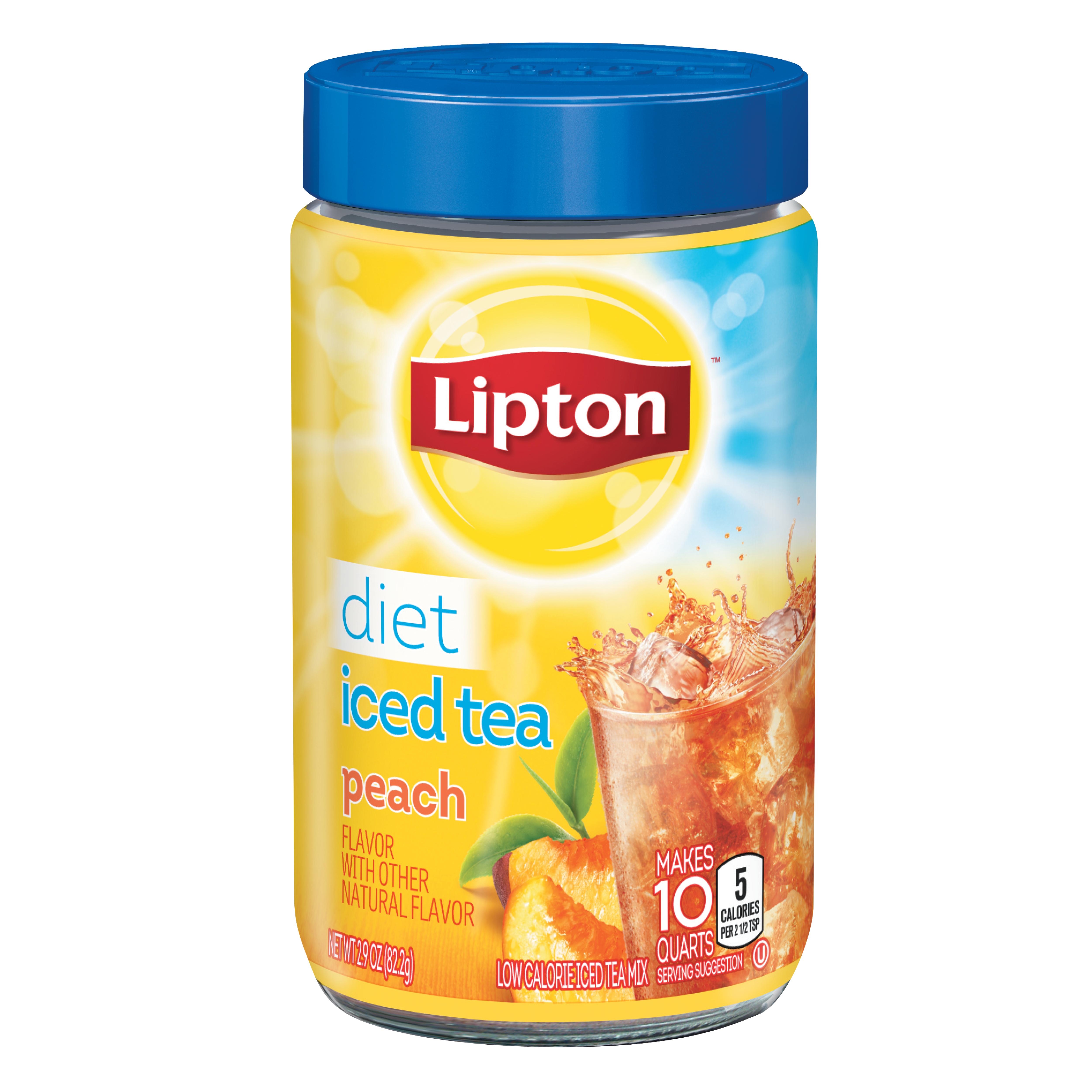 Diet Peach Iced Tea Mix