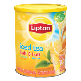 PNG - Lipton Iced Tea Mix Half and Half Sweetened 10 qt