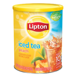 PNG - Lipton US - Lipton Ice Tea PEACH 10 QT