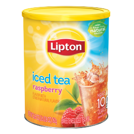 PNG - Lipton US - Lipton Bags Iced Tea Mix Raspberry