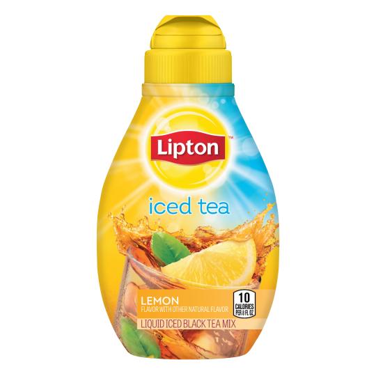 PNG - Lipton US - Lipton Liquid Iced Tea Mix Lemon