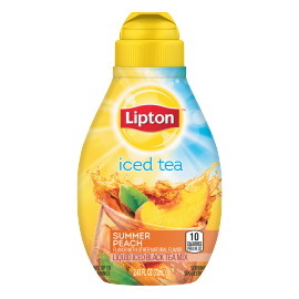 PNG - Lipton US - Lipton Summer Peach Liquid Iced Tea