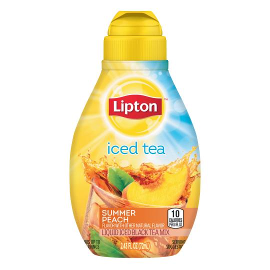 PNG - Lipton US - Lipton Summer Peach Liquid Iced Tea