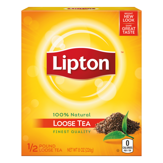 PNG - Lipton US- Lipton Bags Loose Black Tea Loose Tea