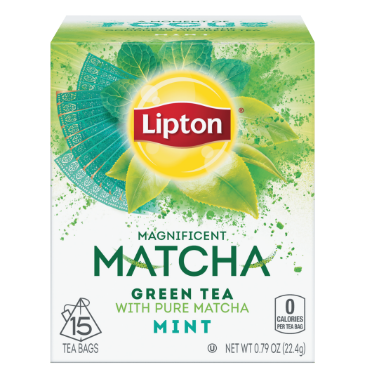 Matcha Green Tea And Mint