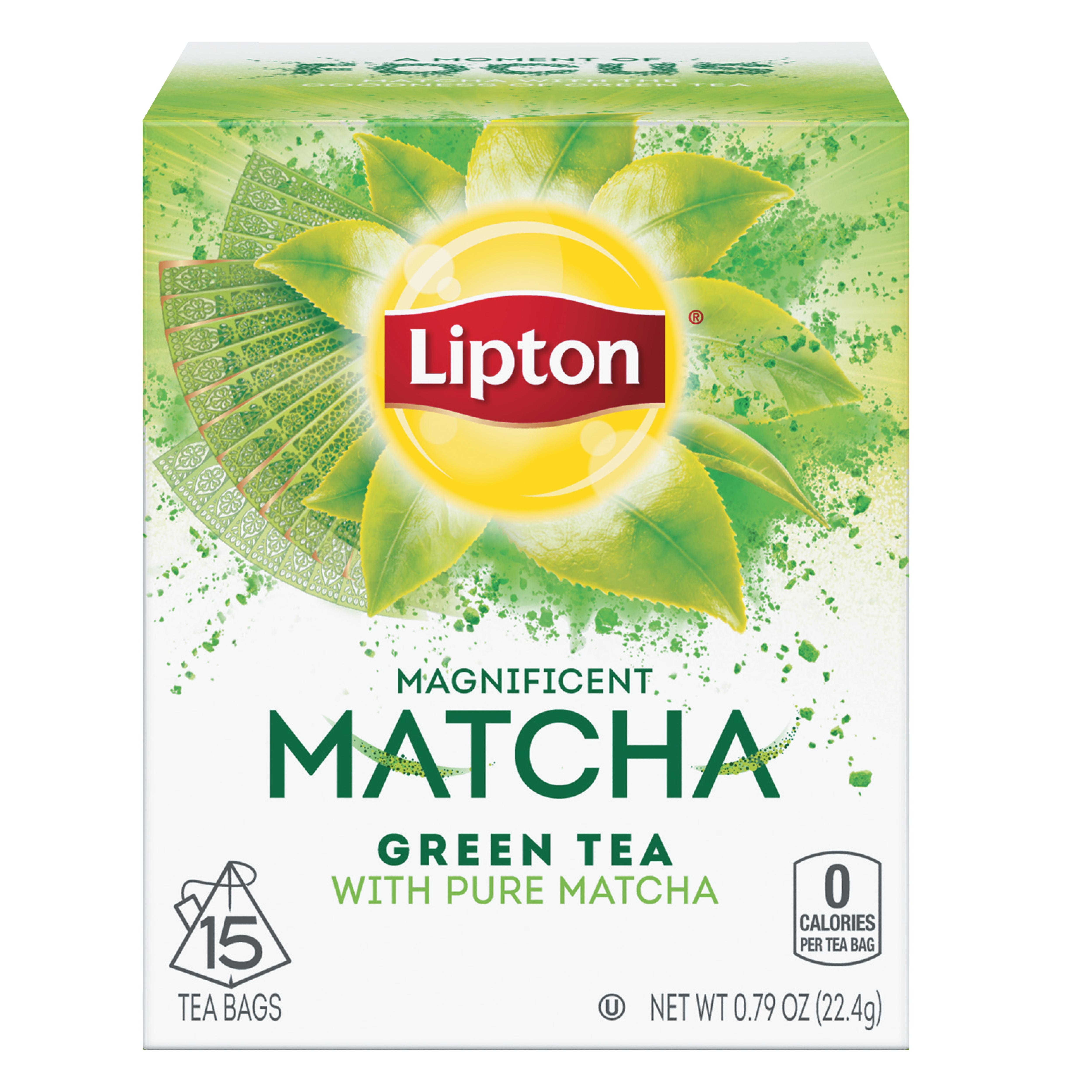 Matcha Green Tea and Mint