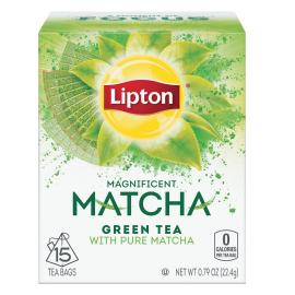 PNG - Lipton US - Lipton Green Tea Matcha Original